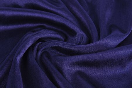 royal blue  silk texture photo