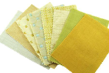 vaus samples of fabric choice Stock Photo - 6685065