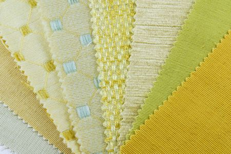 various samples of fabric choice Stock Photo - 6685063
