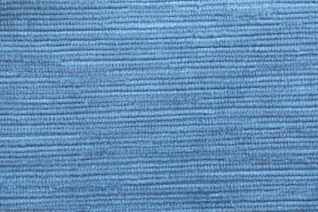 crushed  velvet fabric texture in blue color Stock Photo