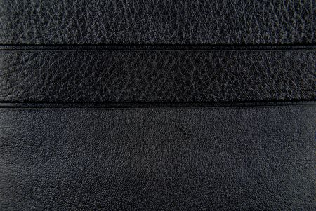 black leather purse texture Stock Photo - 6685111