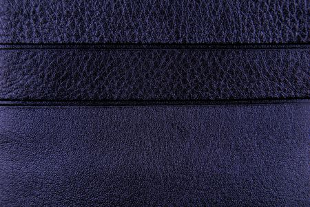 dark blue leather texture background Stock Photo - 6685112