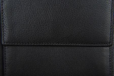 black leather purse texture Stock Photo - 6685090