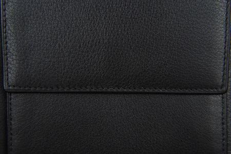 black leather purse texture Stock Photo - 6685090
