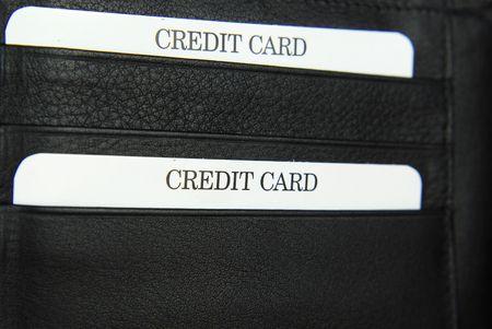 black leather purse texture Stock Photo - 6685077