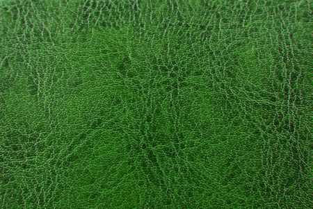 green vintage  leather  texture background Stock Photo - 6685107
