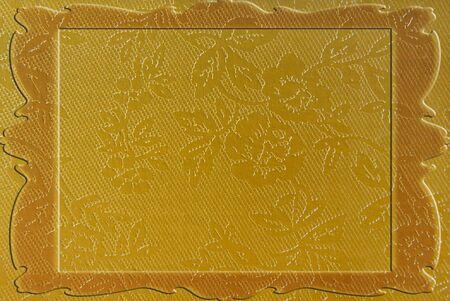 golden border frame photo