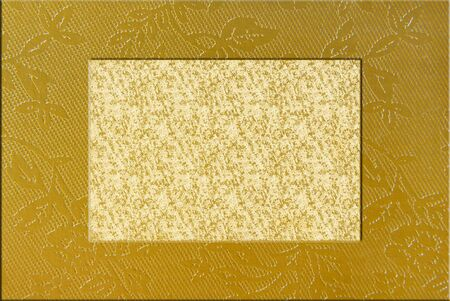 golden border frame photo