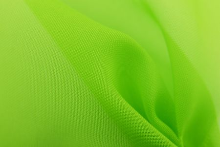soft tissue: green fabric texture background