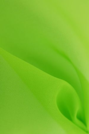 green fabric texture background Stock Photo - 7295113