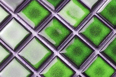 green tiles photo