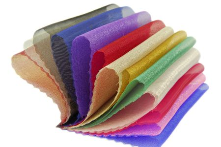 soft tissue: organza fabric texture sampler