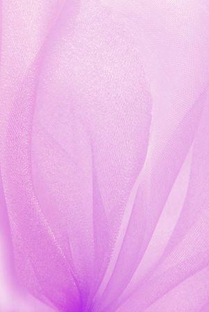 pink organza fabric texture macro photo