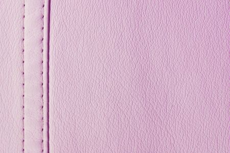 pink leather  seam texture Stock Photo - 8157332
