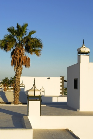 turreted: Puerto Del Carmen, Lanzarote, Canary islands, Spain