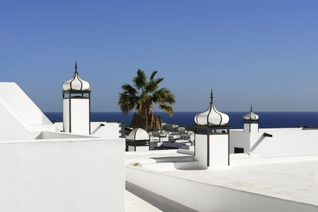 Lanzarote, Puerto Del Carmen, Canary islands, Spain Stock Photo