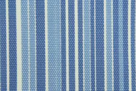 Blauwe gestreepte stof textuur