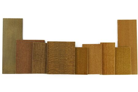 louver boards: wood color and texture sample