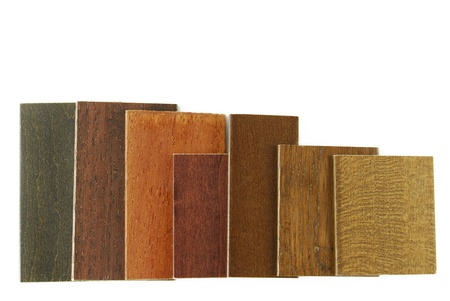 paint swatch: wood color and texture samples