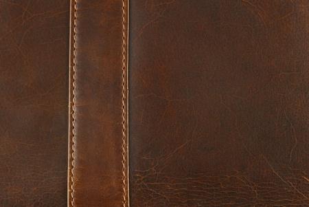 texture en cuir avec Couture