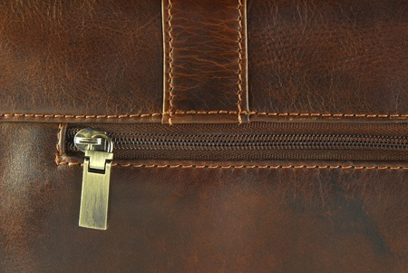 worn leather with zipper  texture  photo