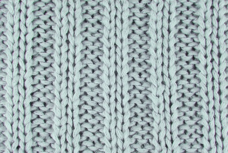closeup of the knitted texture