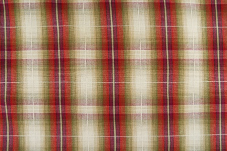 closeup of the chequered fabric texture Stock Photo - 9510397