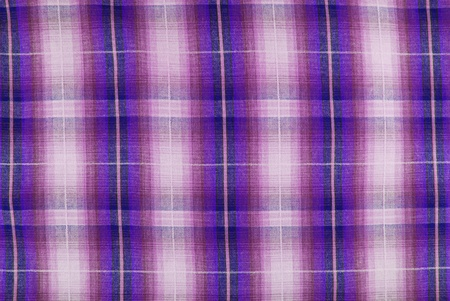 closeup of the chequered fabric texture photo