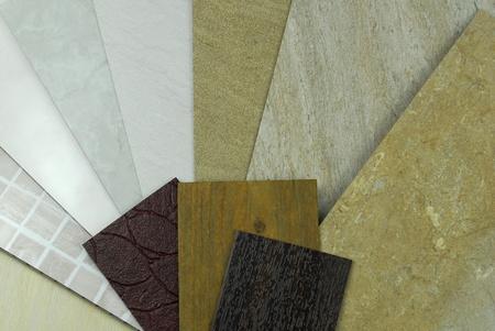 tile cladding: plastic marble panels samples