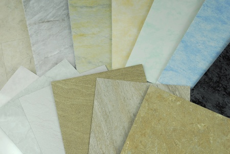 plastic marble panels samples photo