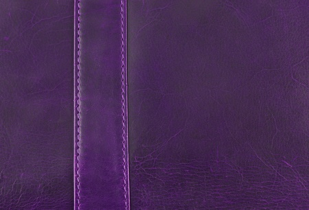 purple leather texture with seam photo
