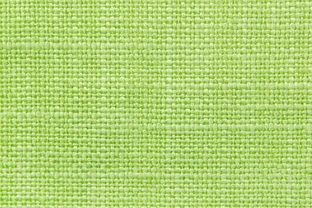 on the tablecloth: green fabric texture