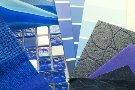 upholstery texture color and tiles samples,decoration planning photo