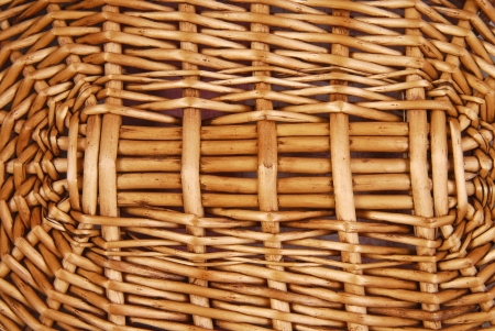 wicker basket texture photo