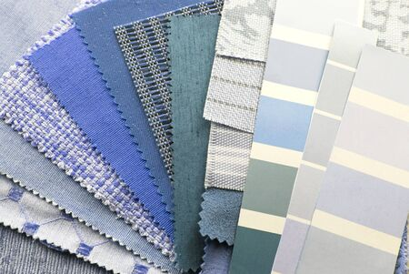 upholstery texture color samples Stock Photo - 16855321
