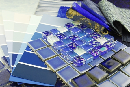 repair decoration planning upholstery  tapestry color selection Stock Photo - 16917042