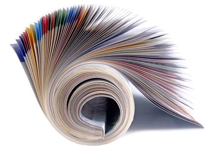 magazine isolated Stock Photo - 17321871