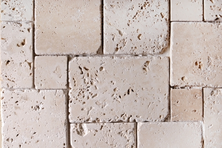 travertine tiles  texture background photo
