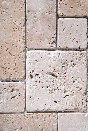 travertine tiles  texture background photo