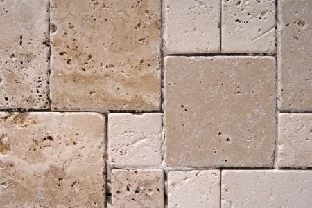 travertijn tegels textuur