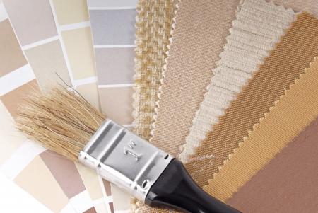 装飾の色の選択 写真素材