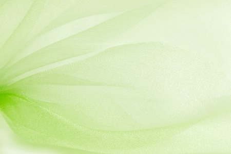 green organza fabric texture Stock Photo - 18907596