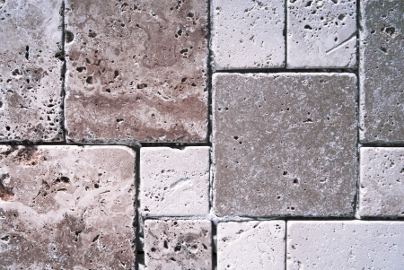 travertine tiles  texture Stock Photo