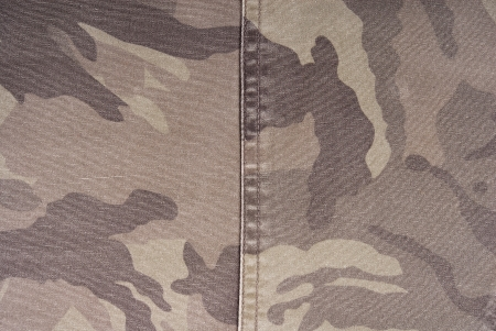 undercover: camouflage fabric texture Stock Photo