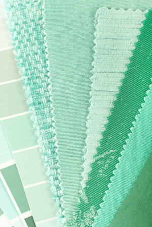 mint color choice for interior decoration photo