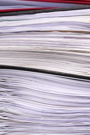 bureau des dossiers papier texture macro