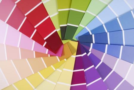 descriptive color: color guide sampler