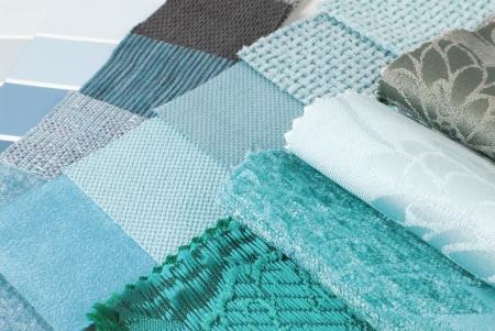 stoffering tapijt en gordijn kleur selectie voor interieur