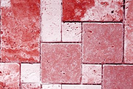 travertine tiles  texture  photo