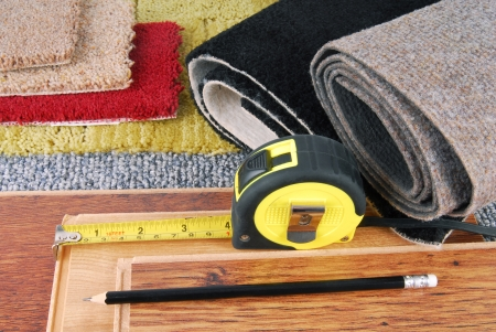 carpet on the floor: carpet and laminate choice for interior
